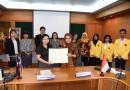 การประชุมเพื่อเตรียมความพร้อมในการแลกเปลี่ยนนิสิตในโครงการเทียบโอนหน่วยกิตกับ Universitas Negeri Semarang