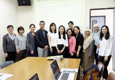 เข้าร่วมการอบรมในหัวข้อ  Collaborative Web-based Inquiry Science Environment Workshop